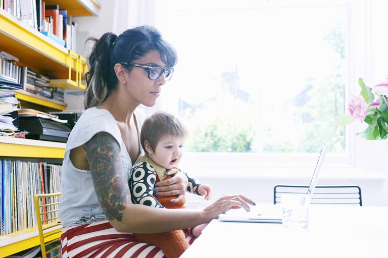 profissionais mães
